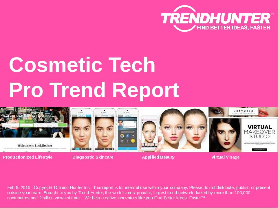 Cosmetic Tech Trend Report Research