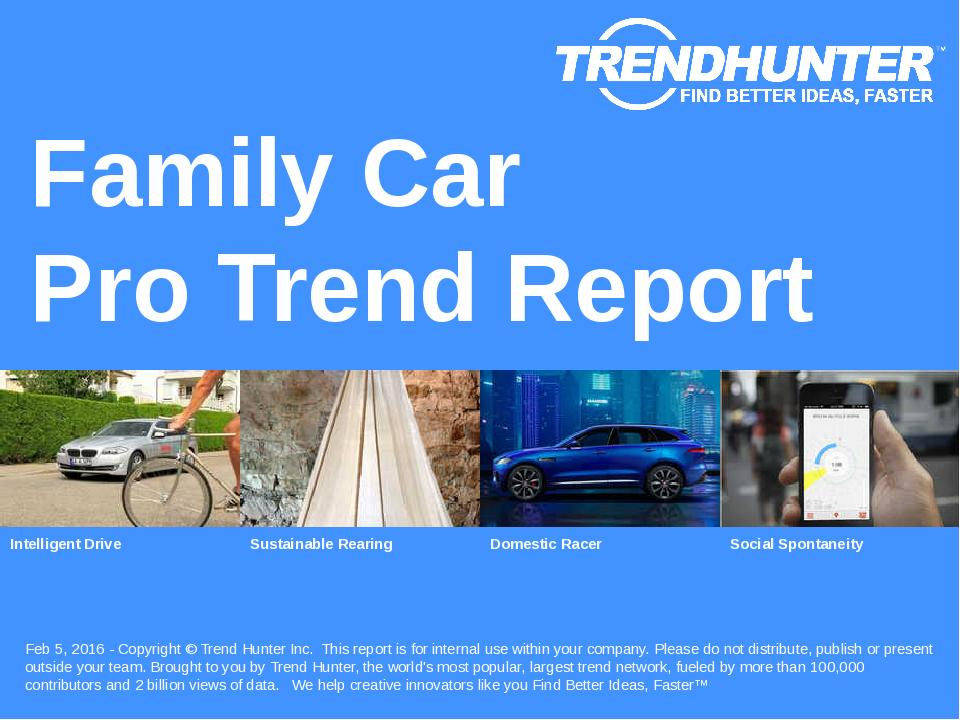 Family Car Trend Report Research