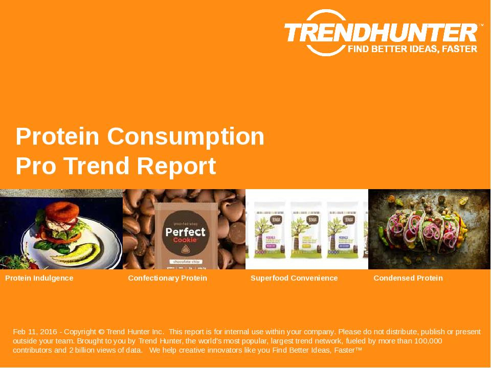 Protein Consumption Trend Report Research