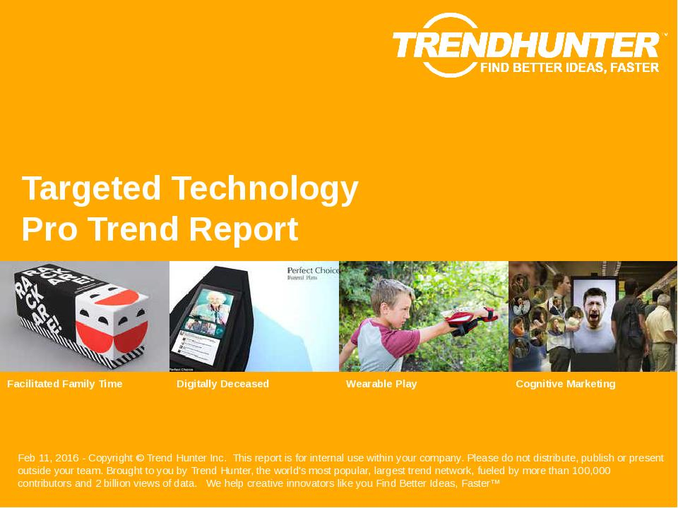 Targeted Technology Trend Report Research