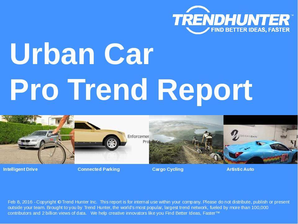 Urban Car Trend Report Research