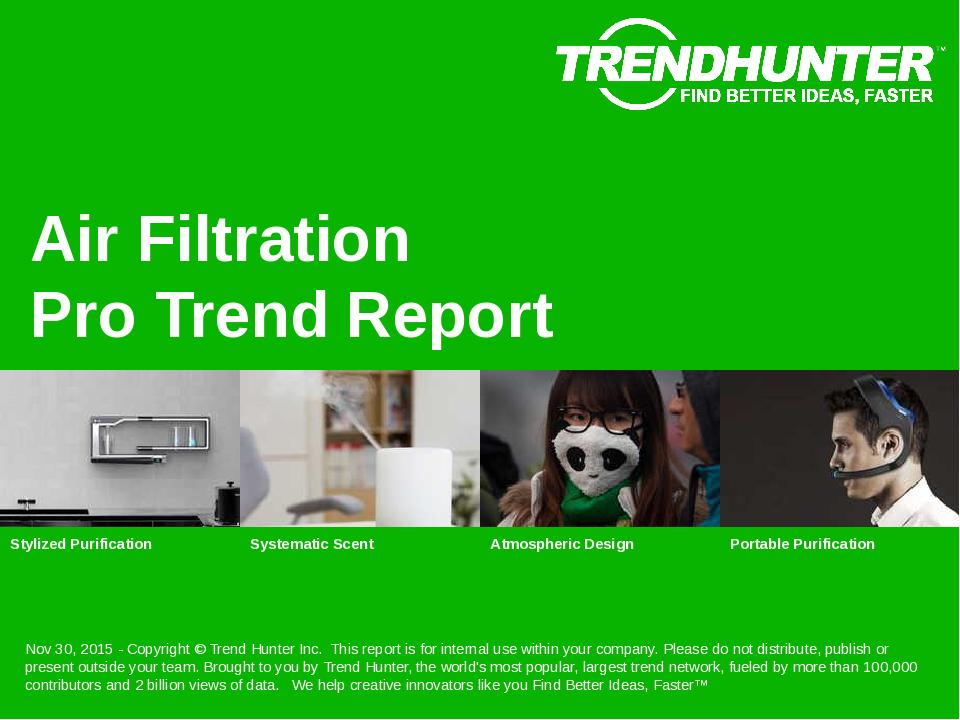 Air Filtration Trend Report Research