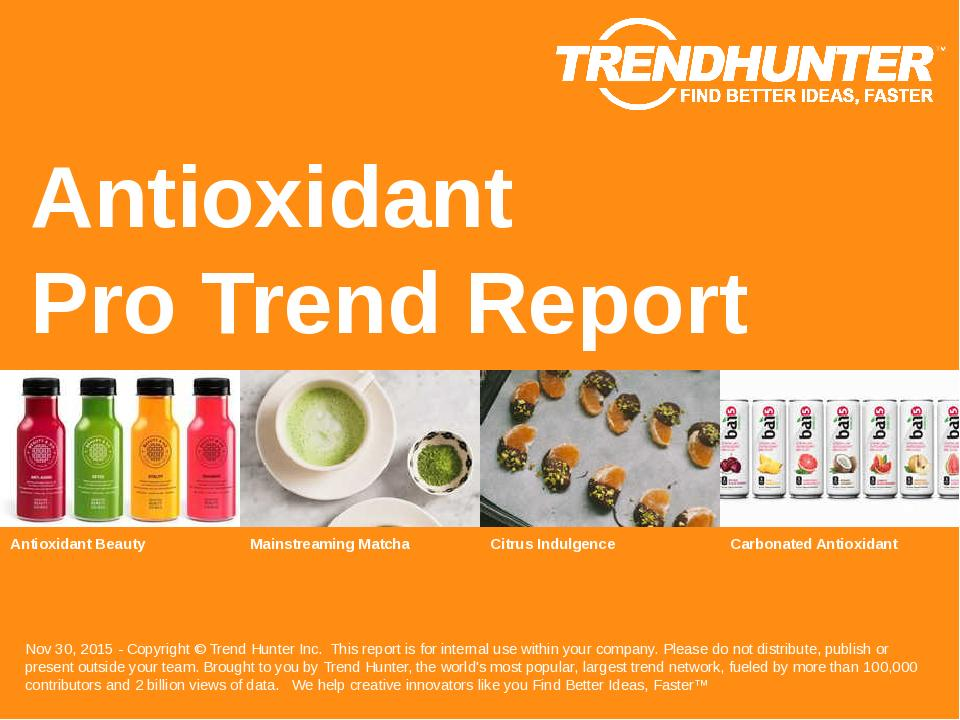 Antioxidant Trend Report Research