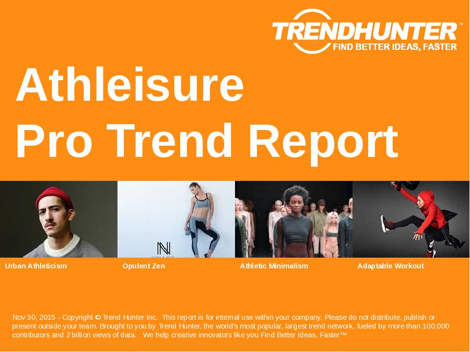 Athleisure Trend Report Research