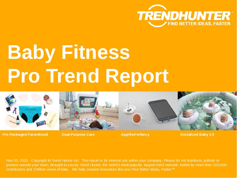 Baby Fitness Trend Report Research