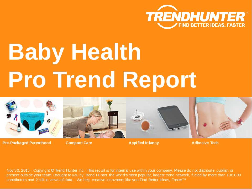 Baby Health Trend Report Research