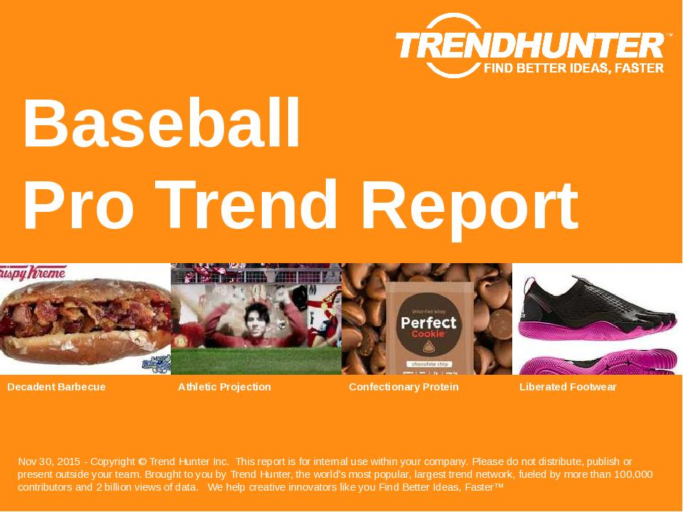 Baseball Trend Report Research