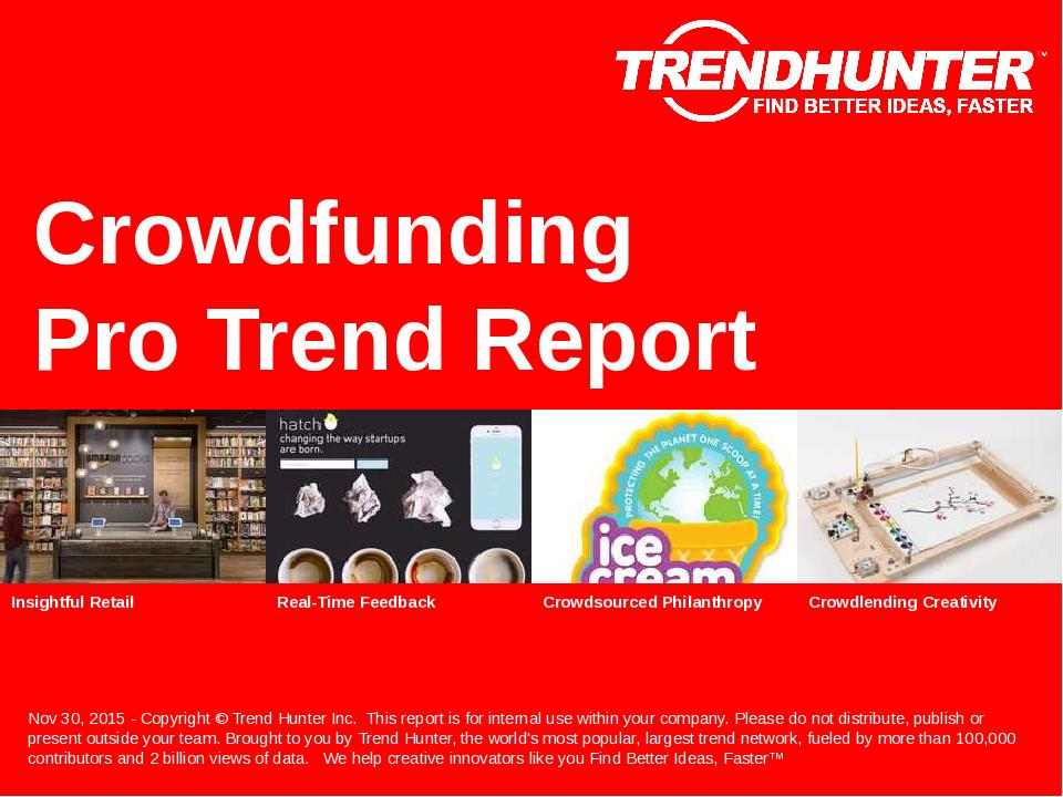 Crowdfunding Trend Report Research