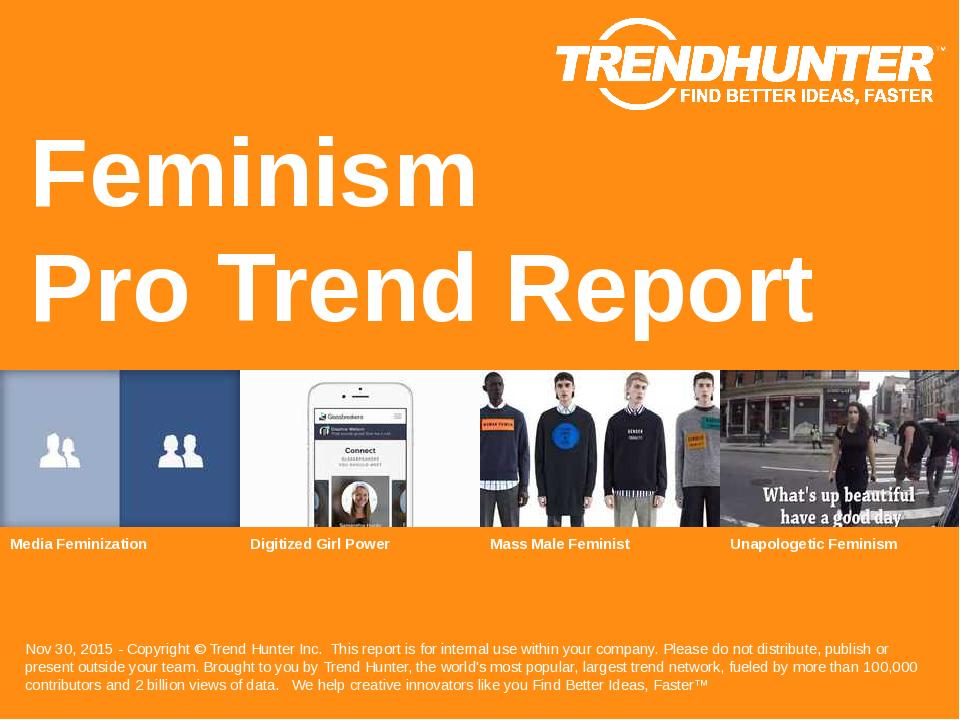 Feminism Trend Report Research