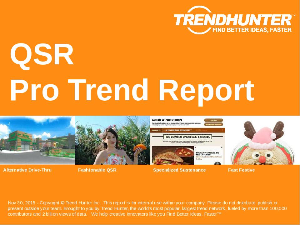 QSR Trend Report Research