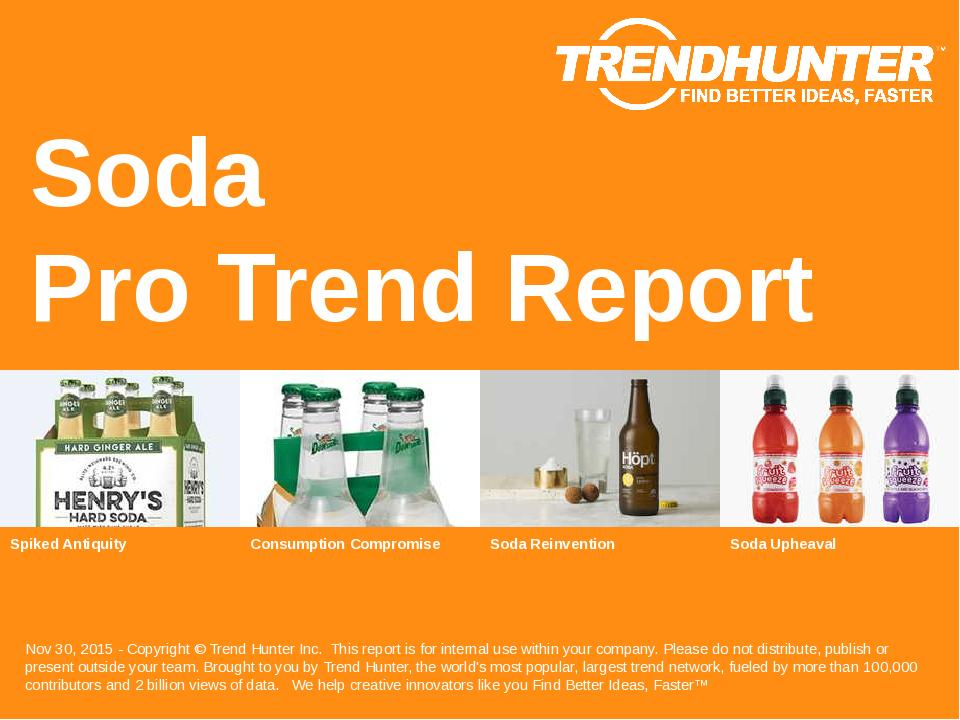 Soda Trend Report Research