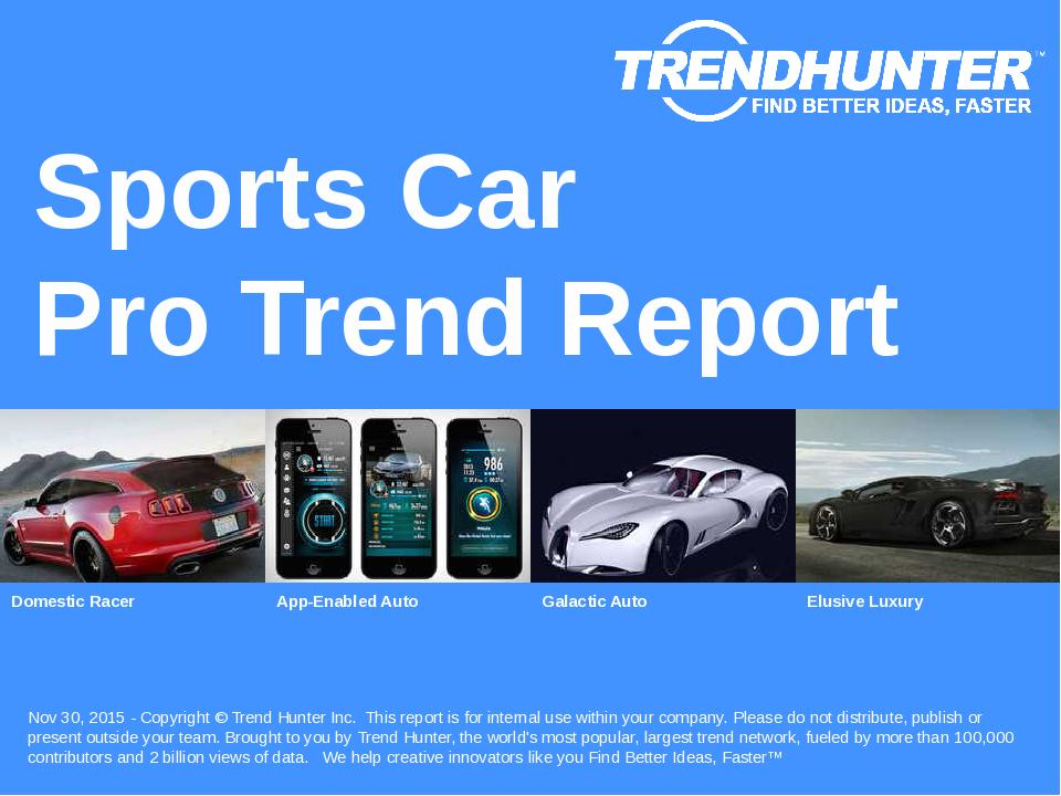 Sports Car Trend Report Research