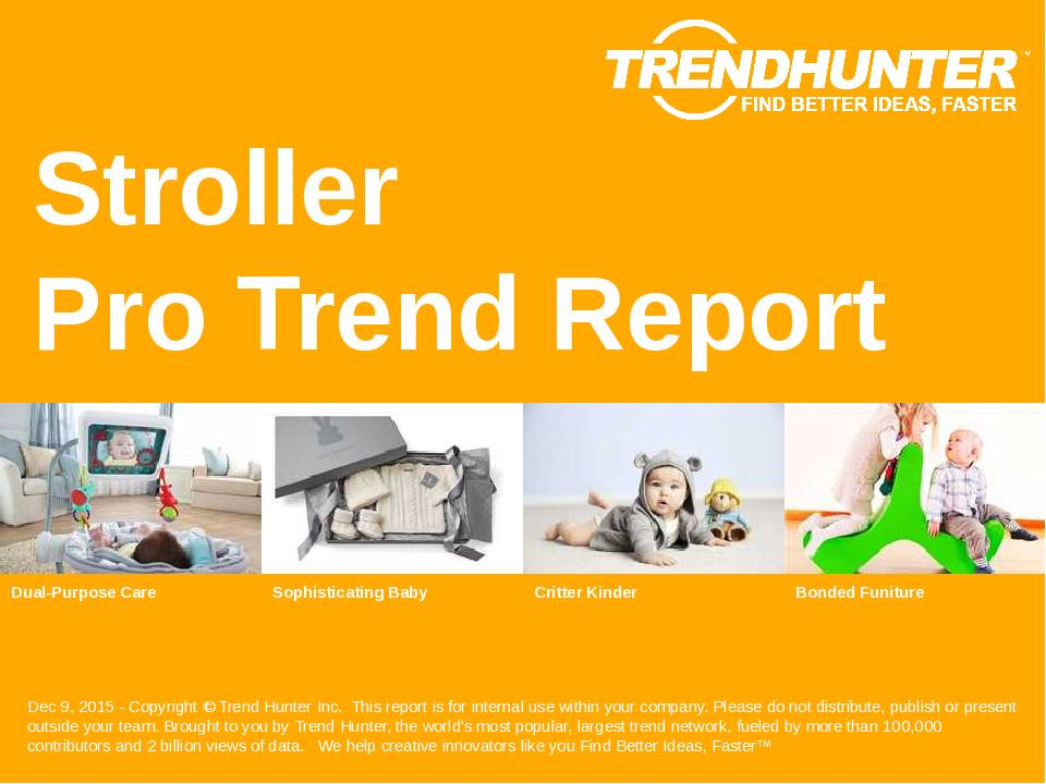 Stroller Trend Report Research