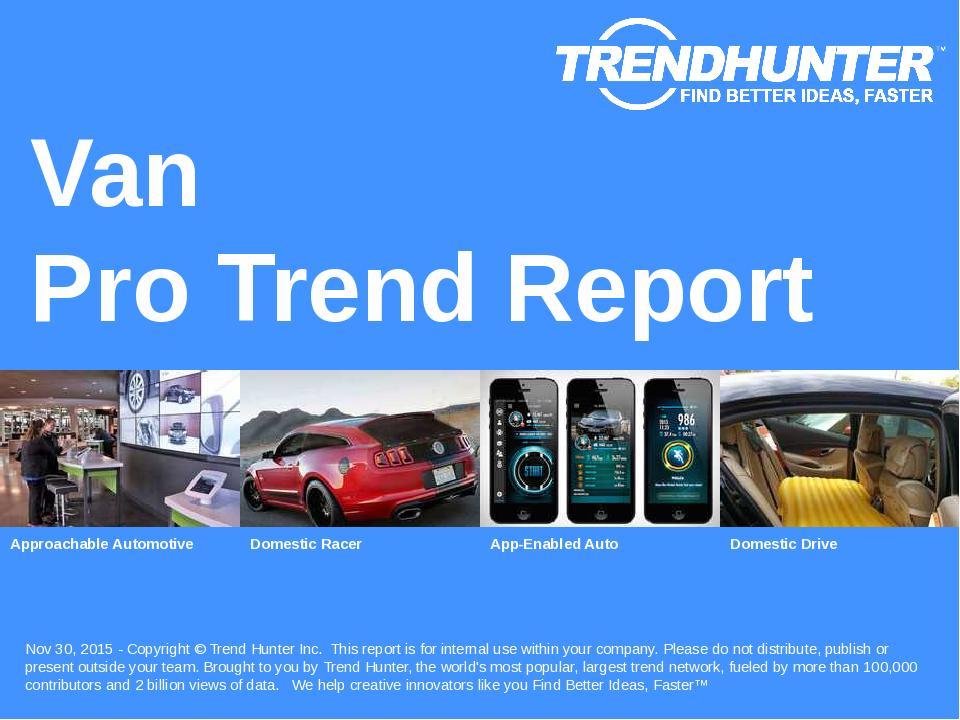 Van Trend Report Research