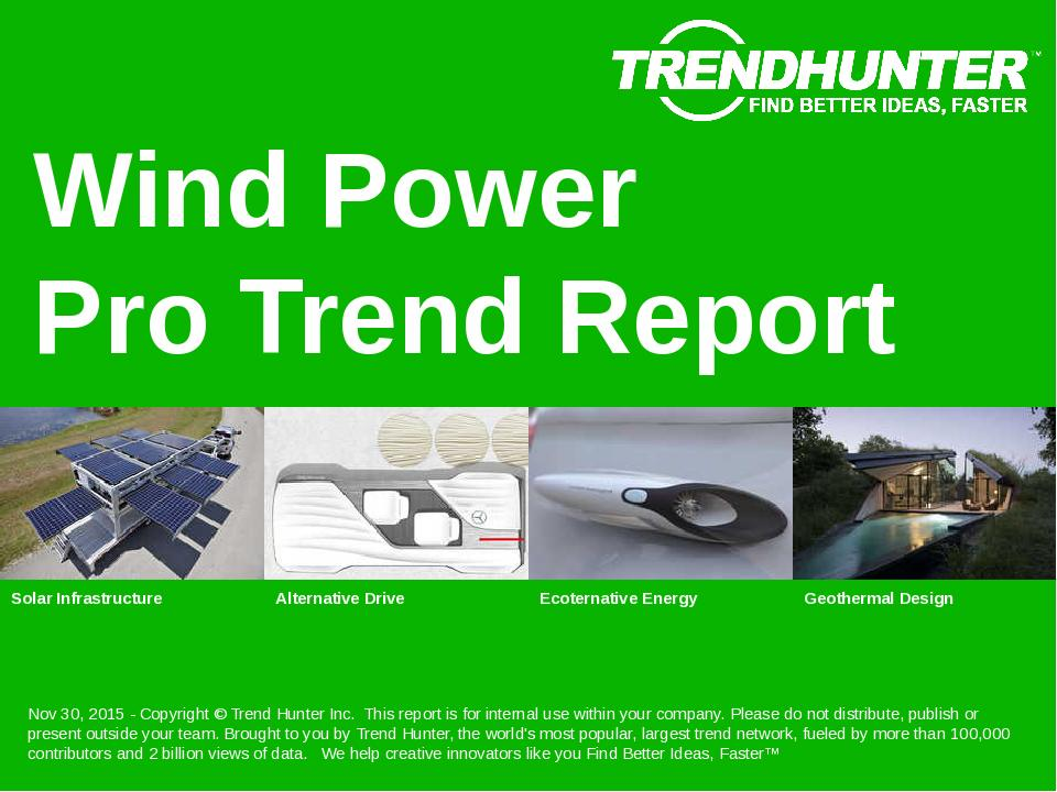 Wind Power Trend Report Research