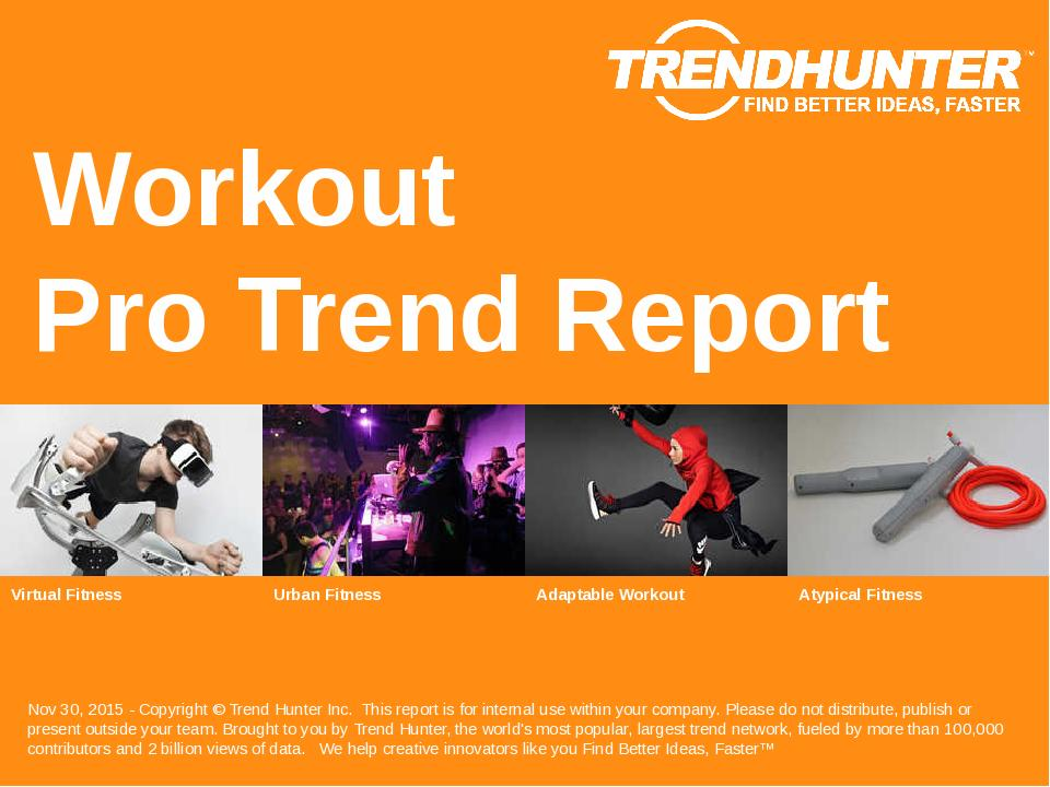 Workout Trend Report Research