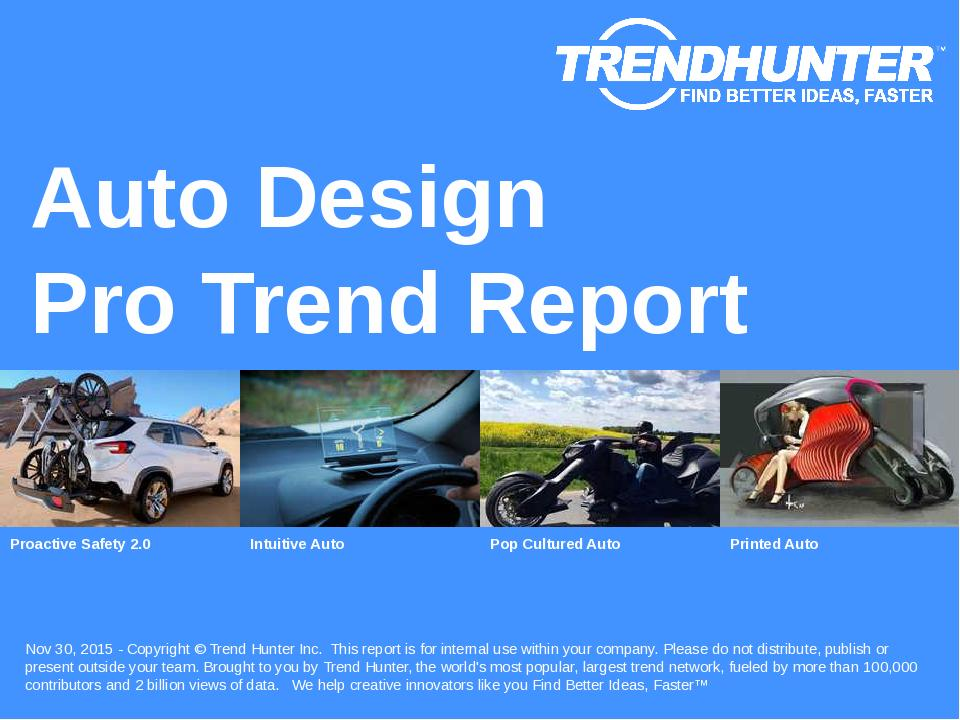 Auto Design Trend Report Research