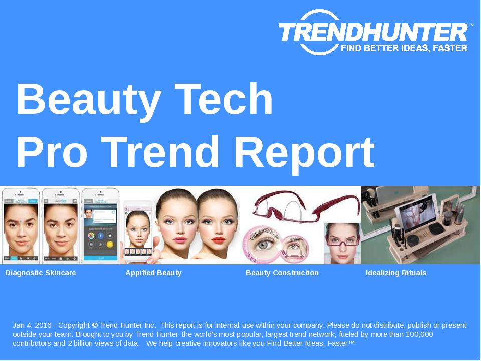 Beauty Tech Trend Report Research