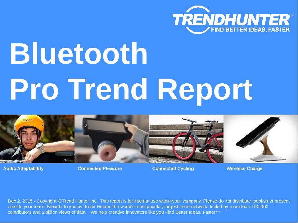 Bluetooth Trend Report Research