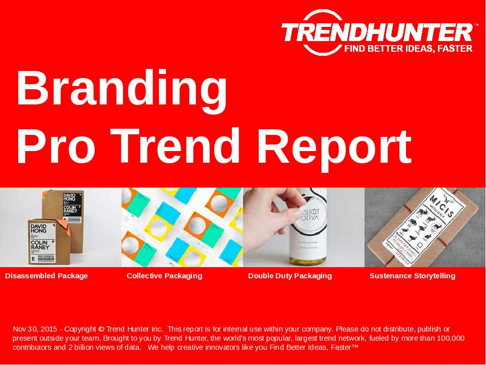 Branding Trend Report Research