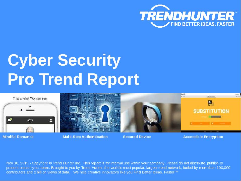 Cyber Security Trend Report Research