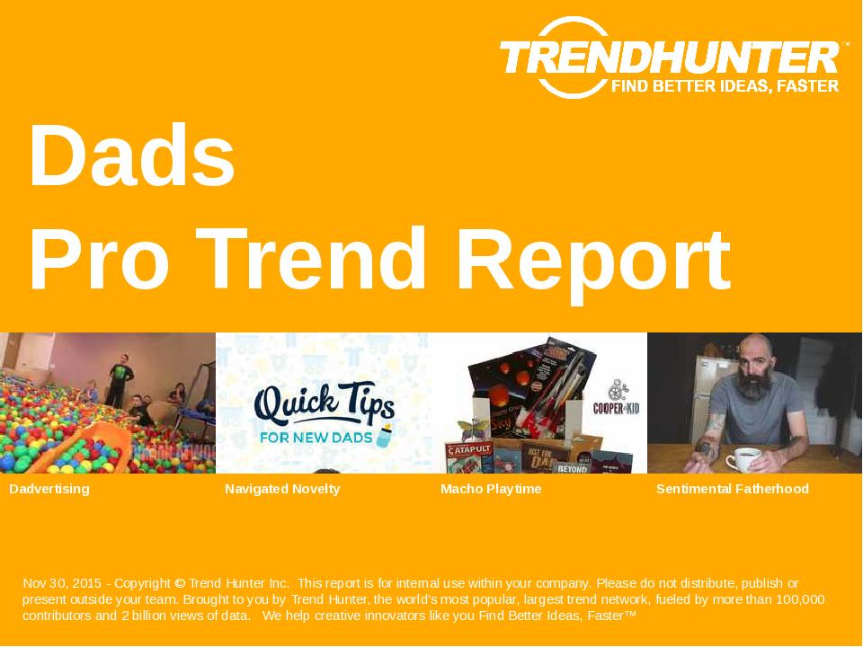 Dads Trend Report Research