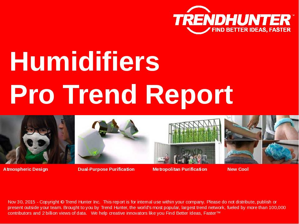 Humidifiers Trend Report Research