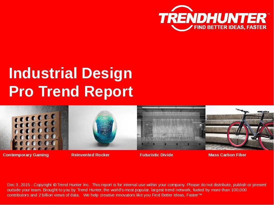 Industrial Design Trend Report Research