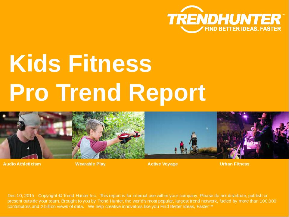Kids Fitness Trend Report Research