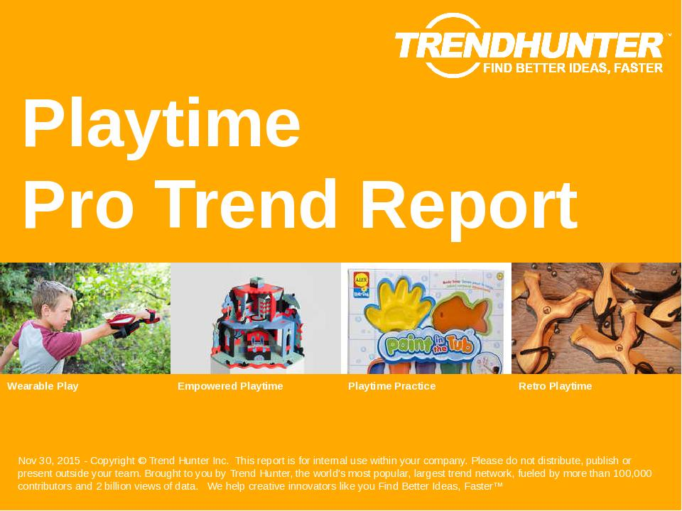 Playtime Trend Report Research