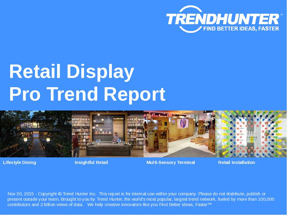 Retail Display Trend Report Research