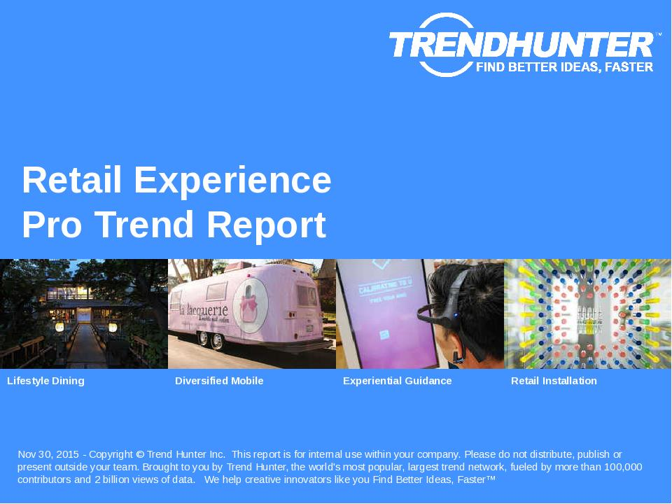 Retail Experience Trend Report Research