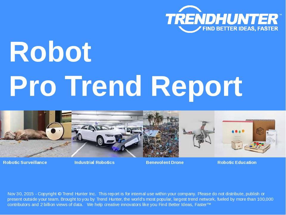 Robot Trend Report Research