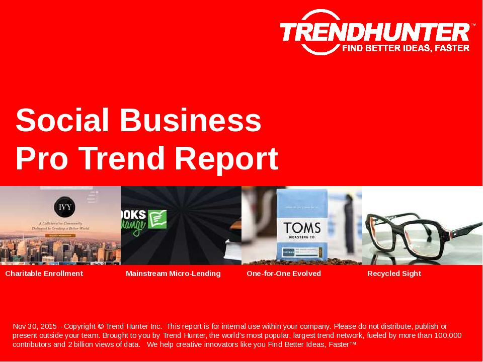 Social Business Trend Report Research