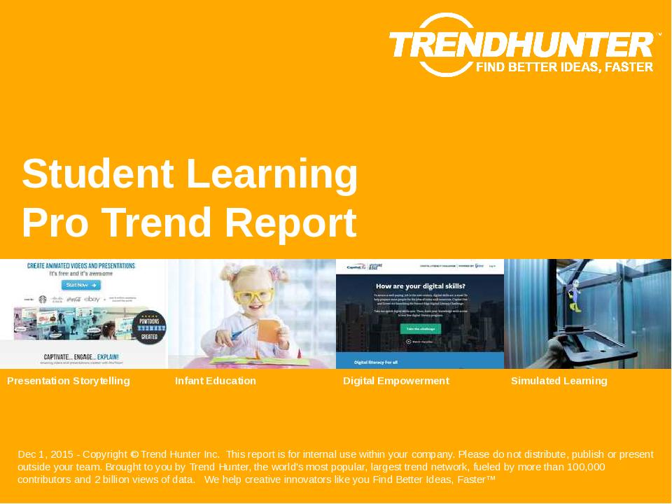 Student Learning Trend Report Research