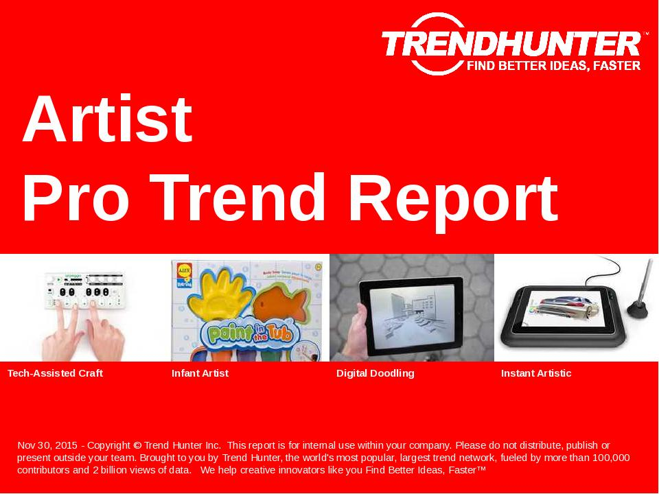 Artist Trend Report Research