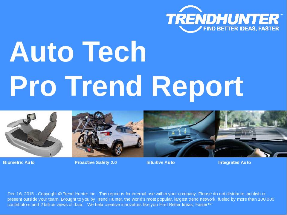 Auto Tech Trend Report Research