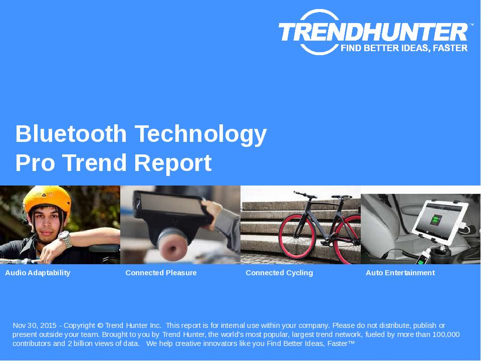 Bluetooth Technology Trend Report Research
