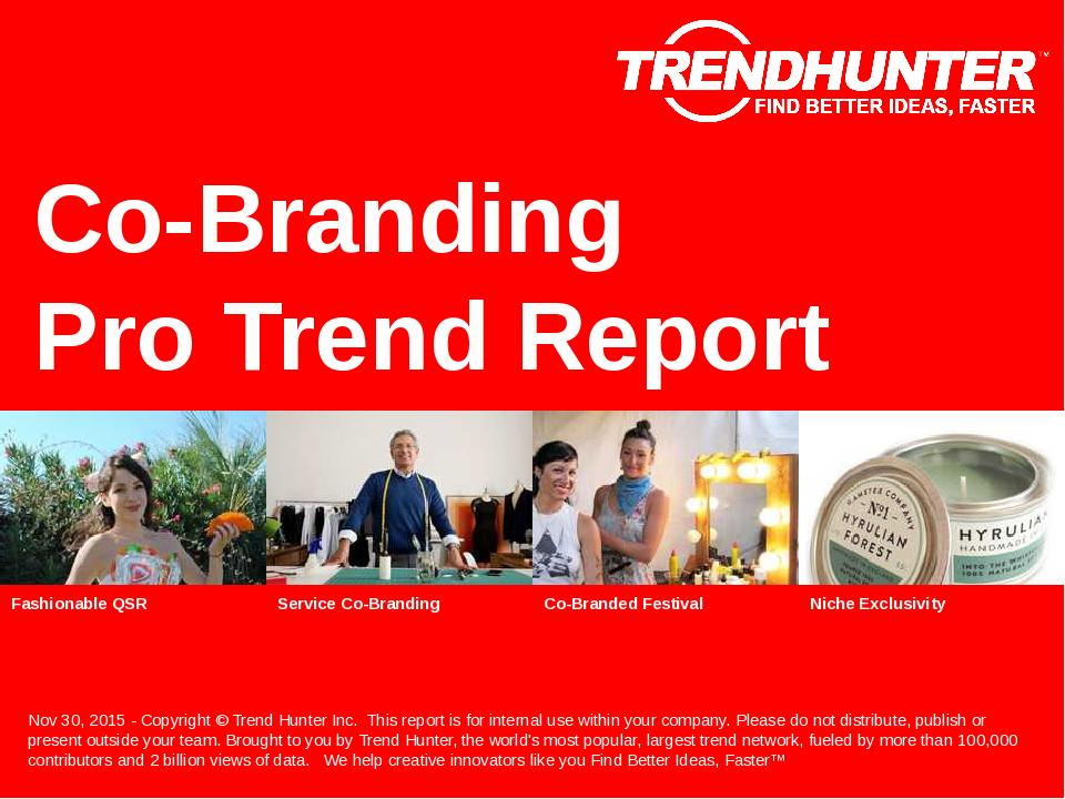 Co-Branding Trend Report Research