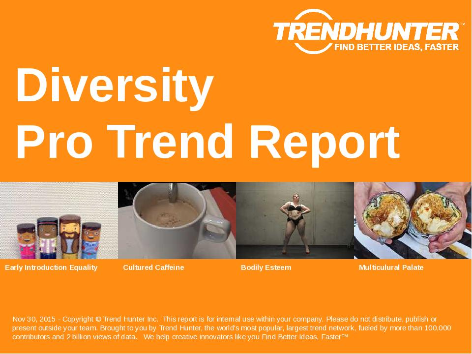 Diversity Trend Report Research