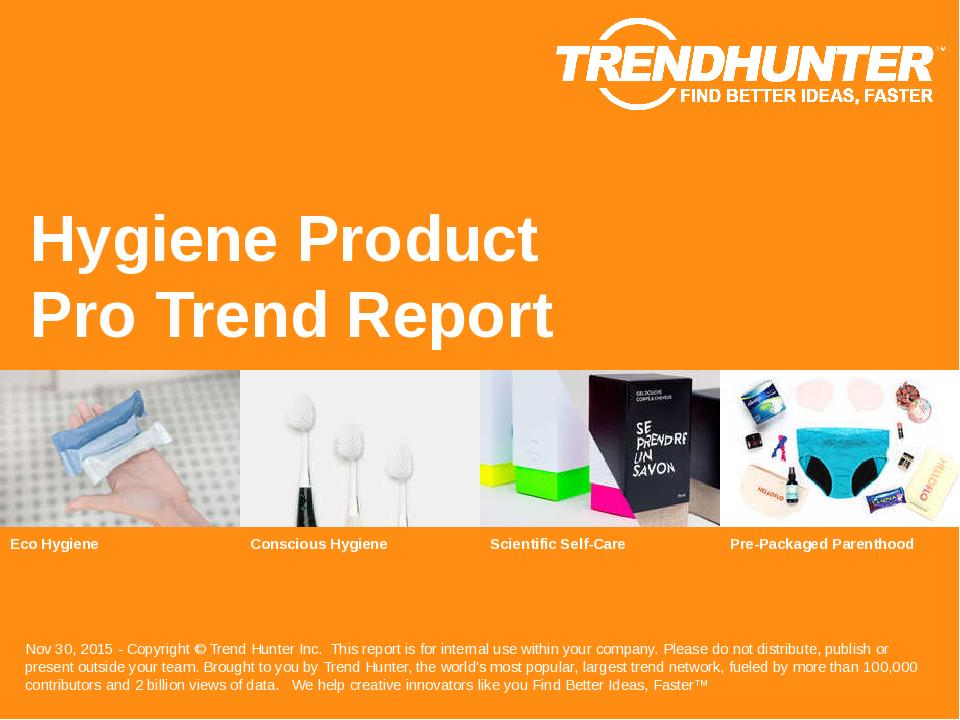 Hygiene Product Trend Report Research