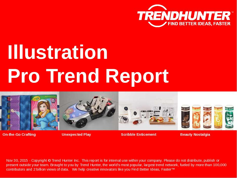 Illustration Trend Report Research