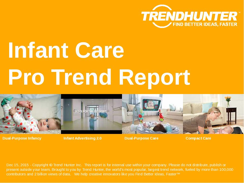 Infant Care Trend Report Research