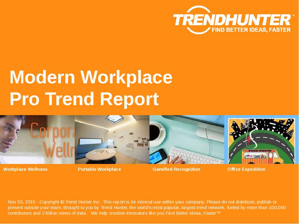 Modern Workplace Trend Report Research