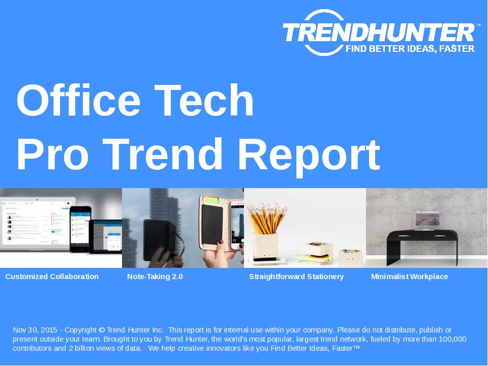 Office Tech Trend Report Research