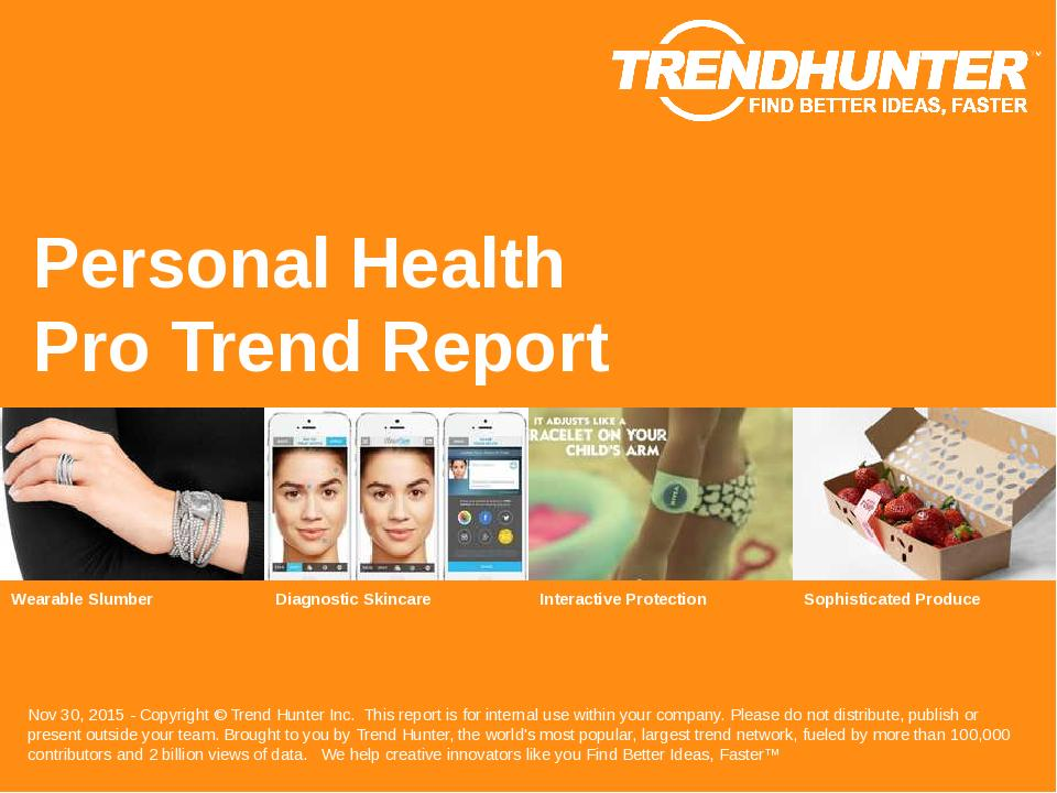 Personal Health Trend Report Research