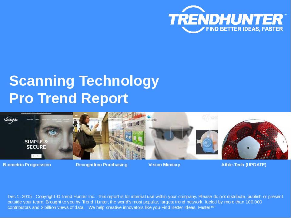 Scanning Technology Trend Report Research