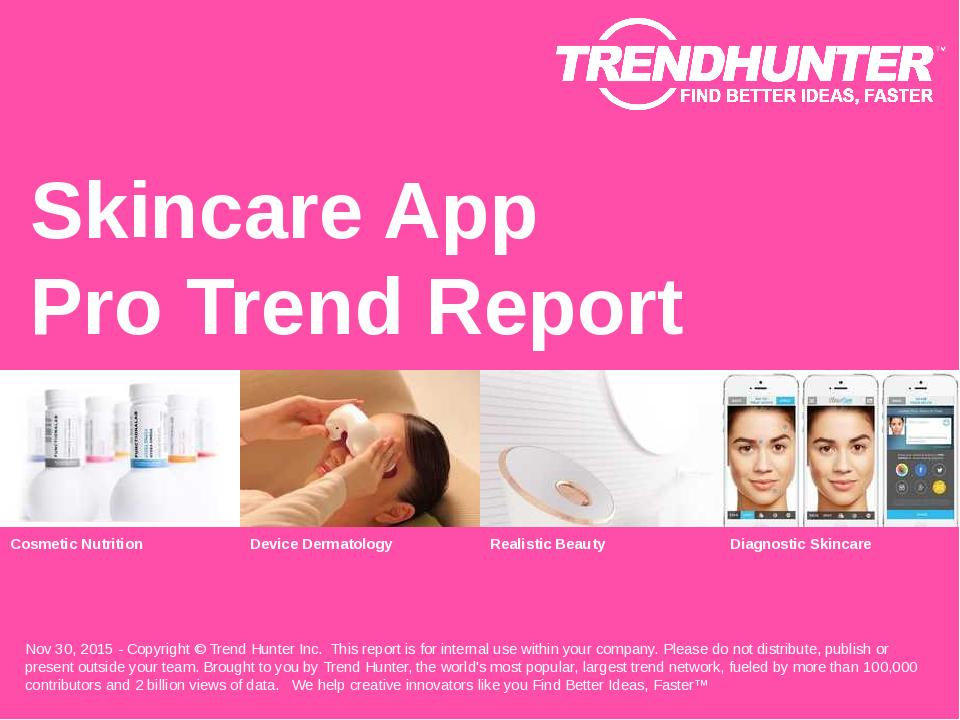 Skincare App Trend Report Research