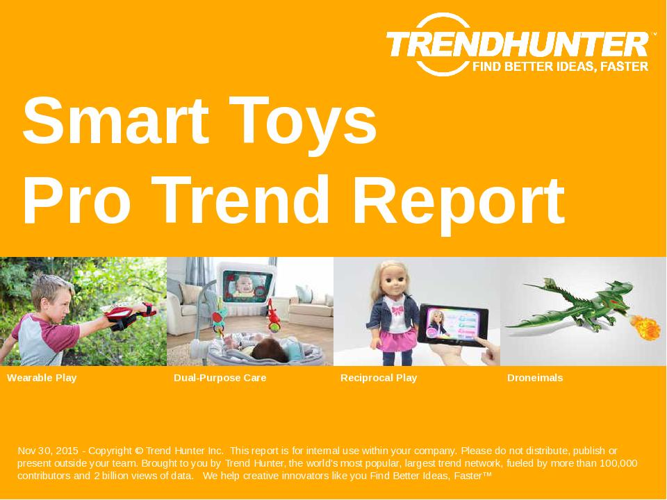 Smart Toys Trend Report Research
