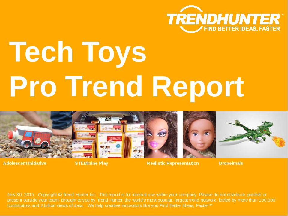 Tech Toys Trend Report Research